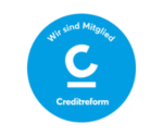 Wir sind Mitglied der Creditreform